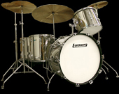 Bonhams Beautiful Ludwig Set Up