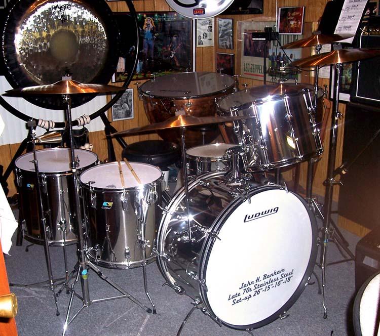 Drum Set Up Ludwig Kit Johnbonham Co Uk